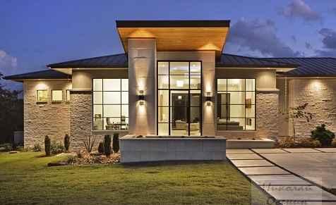 Фасады современных домов