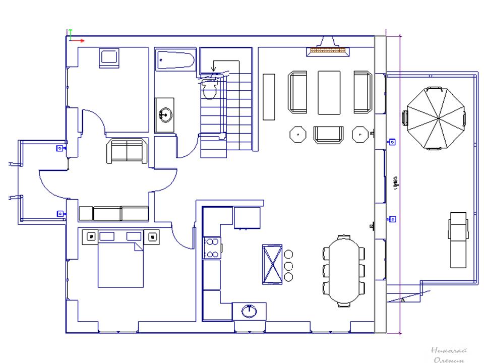 Как нарисовать план дома в программе на компьютере или в ...