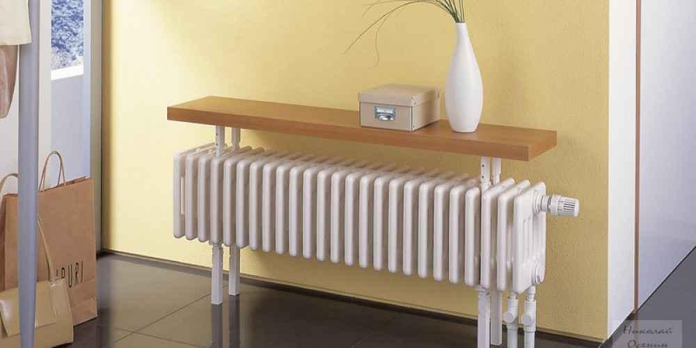 Водяное отопление радиаторами