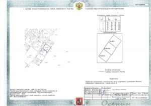 Схема земельных участков в ГПЗУ