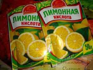 Промывка скважины лимонной кислотой