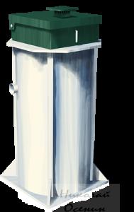 Система автономной канализации Евробион