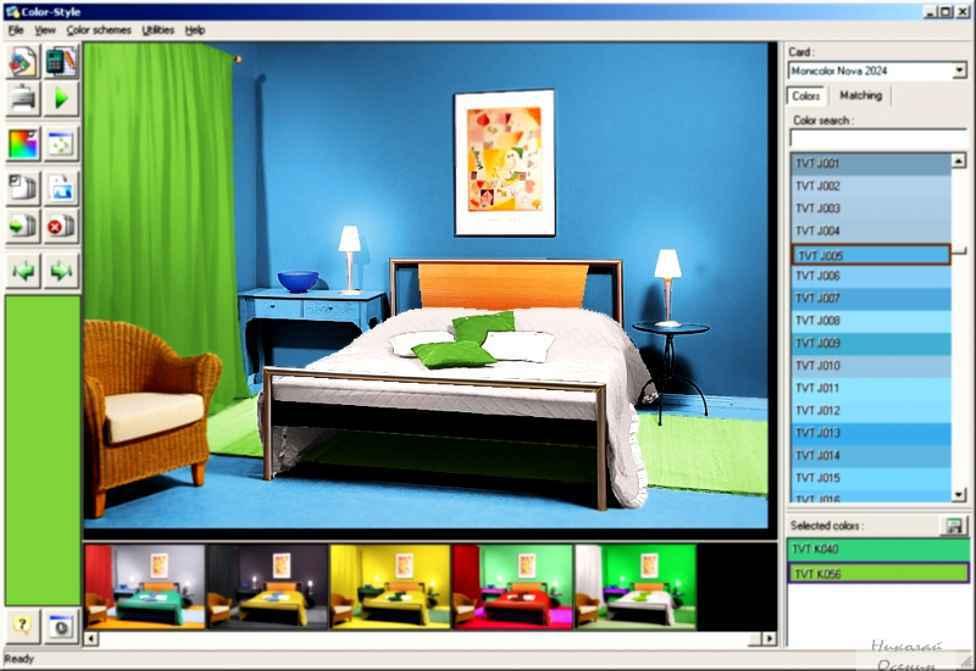 Программа для подбора цвета
