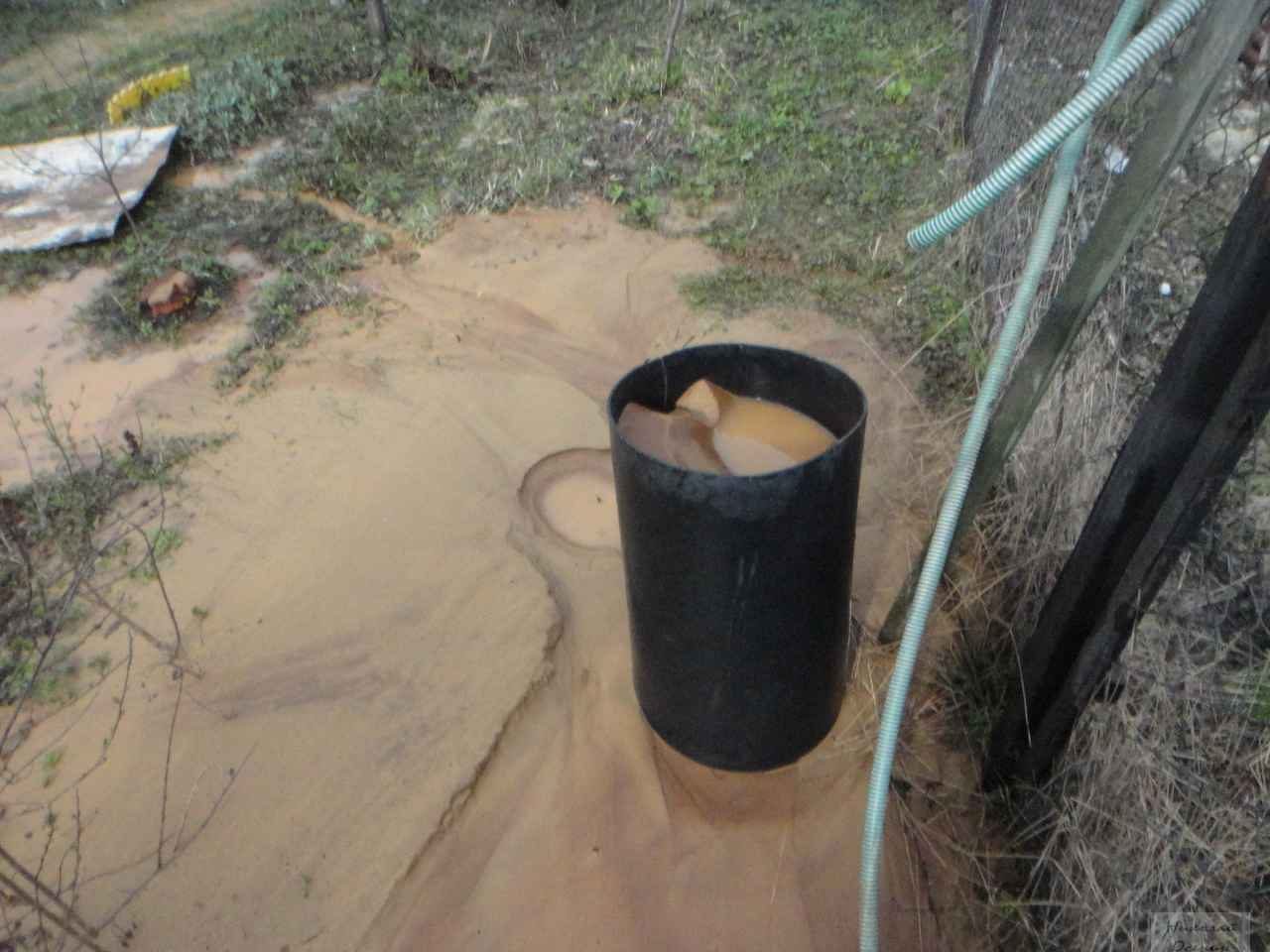 Песок в скважине