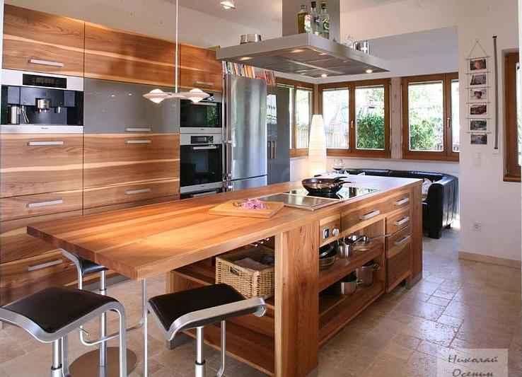 Зона приготовления на кухне