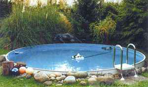 Металлический бассейн