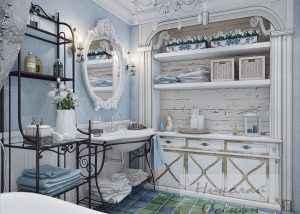 Стиль ванной комнатыПрованс