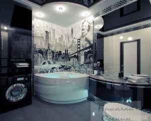 Стили в дизайне ванной