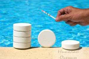 таблетки для дезинфекции воды в бассейне