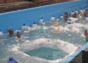 Компенсаторы расширения льда для бассейна
