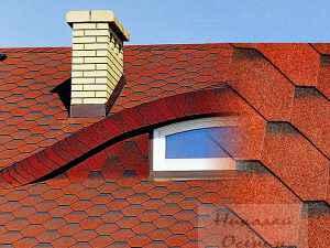 Сложная форма крыши