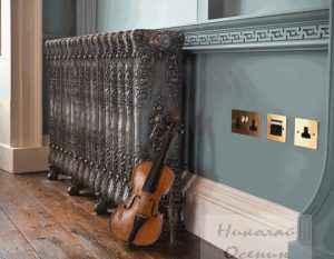 Декоративные чугунные радиаторы
