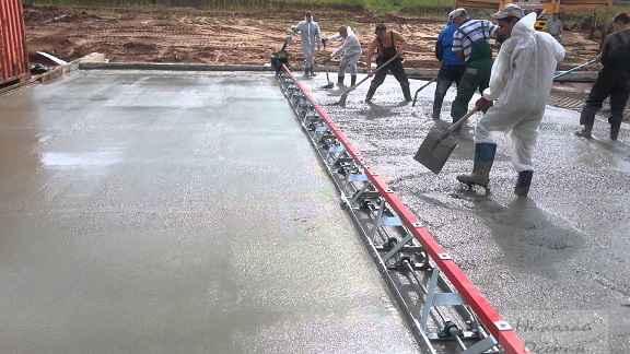 Укладка бетона УШП