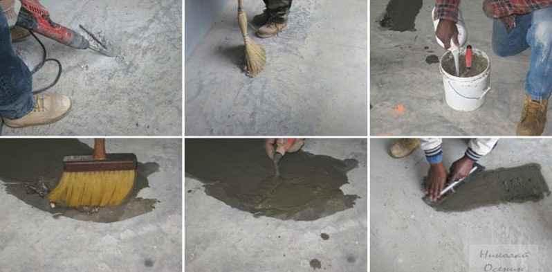 Ремонт отмостки из бетона