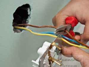 Разборка выключателя