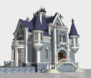 Замковый стиль