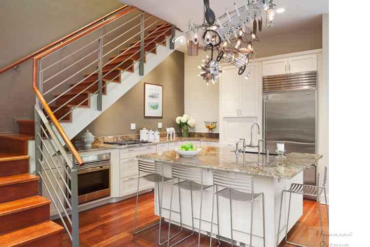 Как сделать из кухни лестницу 364