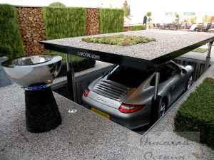 Место для стоянки машины