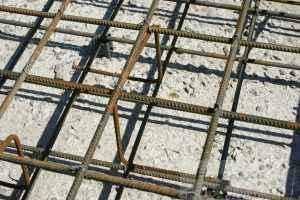 Двойное армирование бетона
