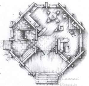 Многоугольная форма комнат