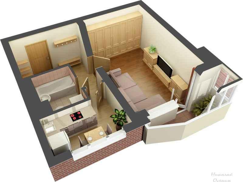 Как разместить помещения