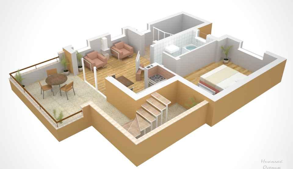 Размер жилых помещений