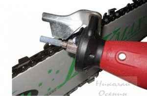 Инструмент для заточки цепи