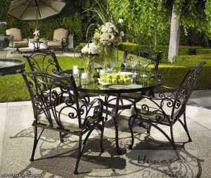 Кованная садовая мебель