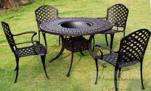 Железная садовая мебель