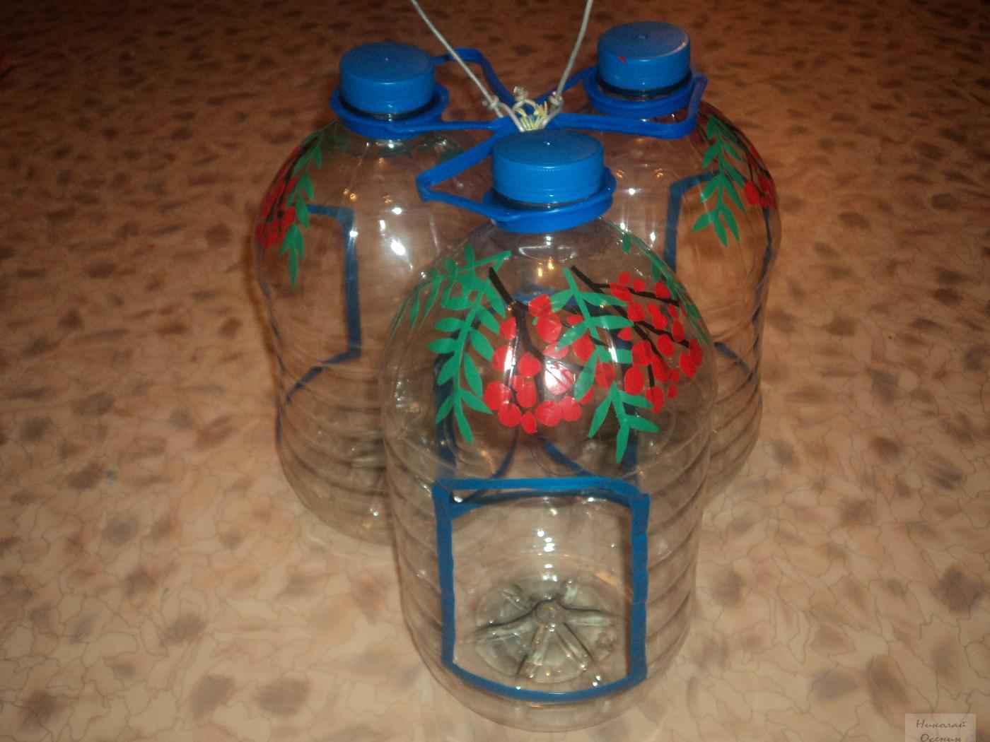 Кормушка своими руками из бутылок