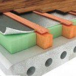 Как утеплить бетонный пол на первом этаже частного дома