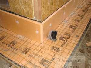 Утепление бетонного пола снаружи