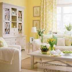 Цвет интерьера столовой