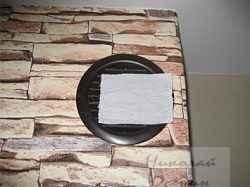 Проверка вентиляции бумагой