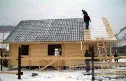 Возведение крыши в зимний период