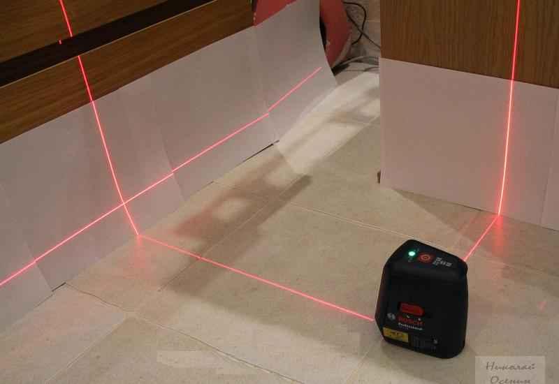 Как увидеть луч лазерного уровня днем