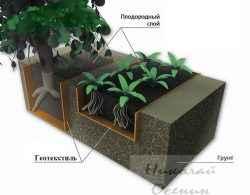 Геотекстиль в садоводстве