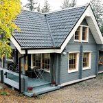 Клееный или натуральный брус для строительства финского дома