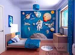 Выделение стены в маленькой комнате