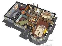Выбор планировки частного дома