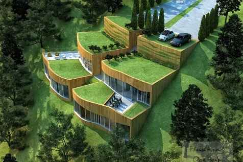 как адаптировать проект дома к участку