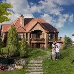 Проектирование дома для семьи с детьми