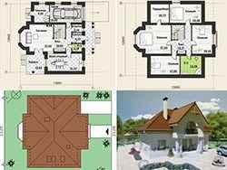 Достоинства готового проекта дома