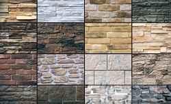 Панели из искусственного камня