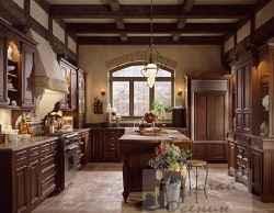 кухня в английском доме
