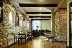 кирпичные стены в частном доме