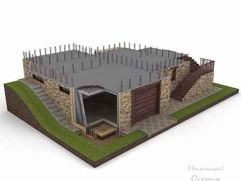 Проектирование домов с цокольным этажом