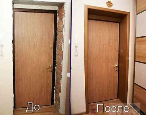 Как правильно ставить доборы на межкомнатную дверь