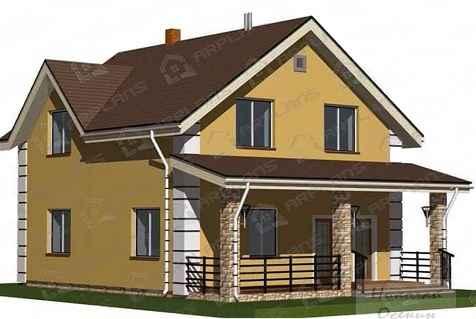 Проект дома из блоков Ytong