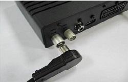 Подключение ресивера для цифрового телевидения к антенне